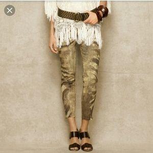 Ralph Lauren Zebra print jeans
